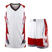 New kids adult basketball training jersey set blank men college tracksuits breathable boys basketball jersey uniforms customized - Hobbyvillage