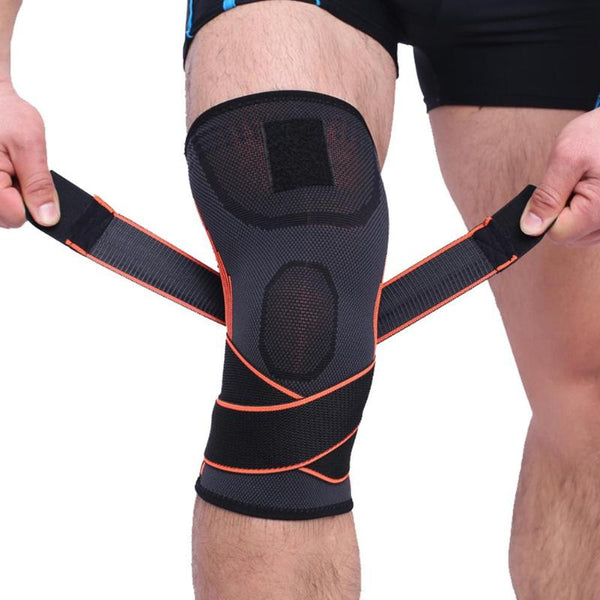 1PCS Knee Support Fitness Running Cycling Bandage Elastic Sports Braces Pad Breathable Knee Brace Basketball Tennis Volleyball - Hobbyvillage
