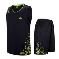 Children's Basketball Jersey Sets Child Uniforms kits kids Girls Sports Running clothing Fast drying Youth Basketball Jerseys - Hobbyvillage