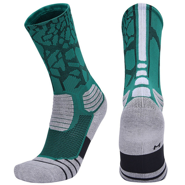 Brothock Professional basketball socks boxing elite thick sports socks non-slip Durable skateboard towel bottom socks stocking - Hobbyvillage
