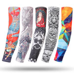 One Pair Arm Sleeves Breathable Quick Dry Fishing  Running  Basketball Elbow Pad Fitness Armguards Sports Cycling Arm Warmers - Hobbyvillage