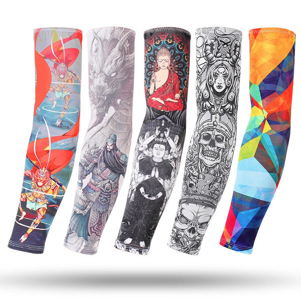 Running Arm Sleeves Basketball Elbow Pad Fitness Armguards Breathable Quick Dry Uv Protection Sports Cycling Arm Warmers Men's Accessories Men's Arm Warmers