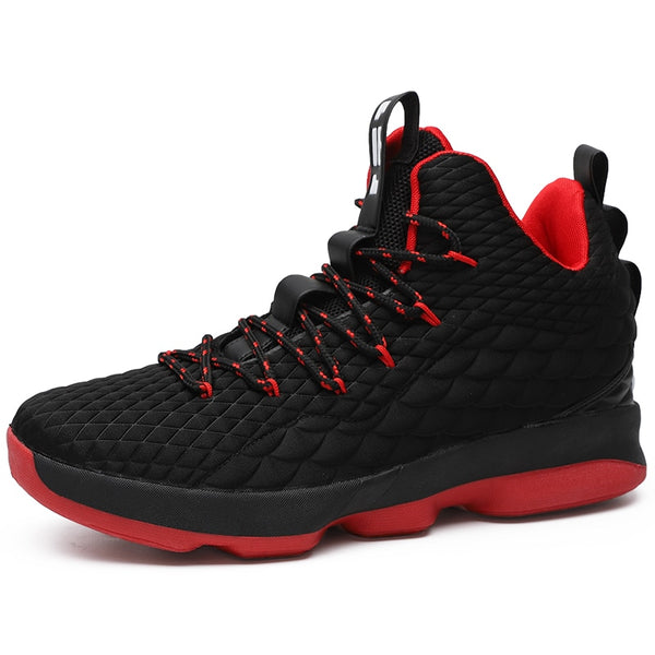 New High Top Lace Up Lebron James 13 Basketball Shoes Cushioning Shock