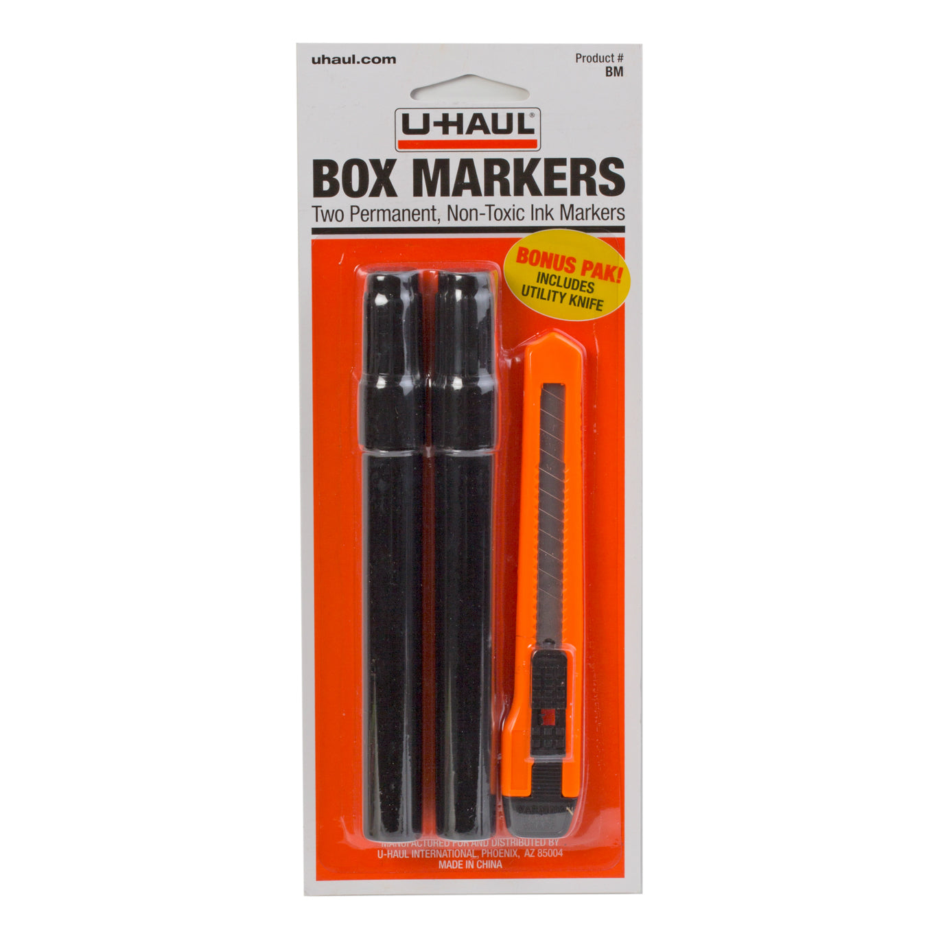 Box Markers With Knife
