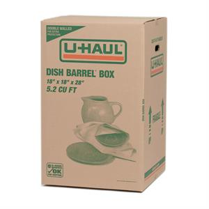 Dish Barrel Box