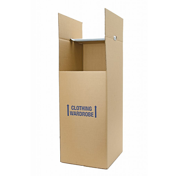 Wardrobe Box - Small<br>21″x 18″ x 46″