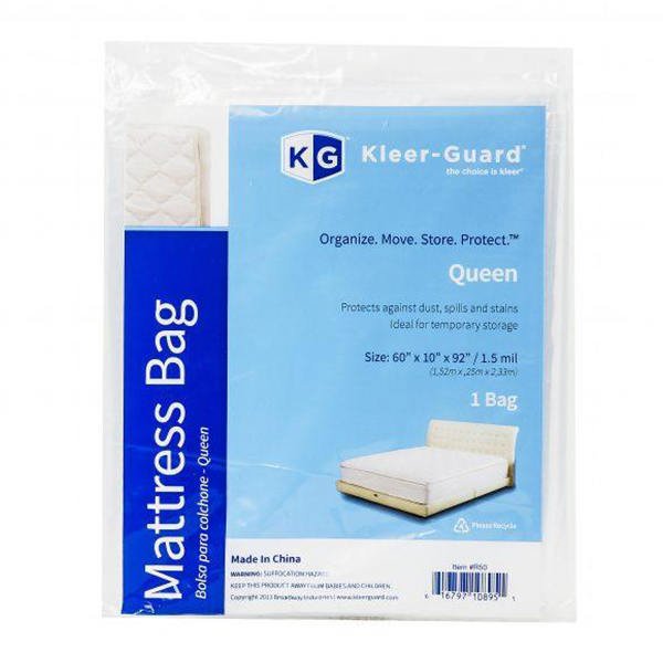 Queen Mattress Cover<br>1 Bag. 60″ x 10″ x 92″