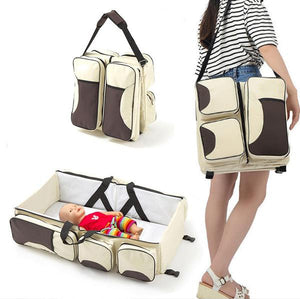 4-in-1  Convertable Crib Diaper Bag™