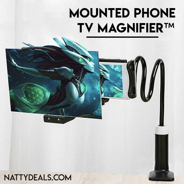 Mounted Phone TV Magnifier™
