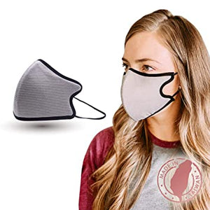 Copper Ion Face Mask - Grey