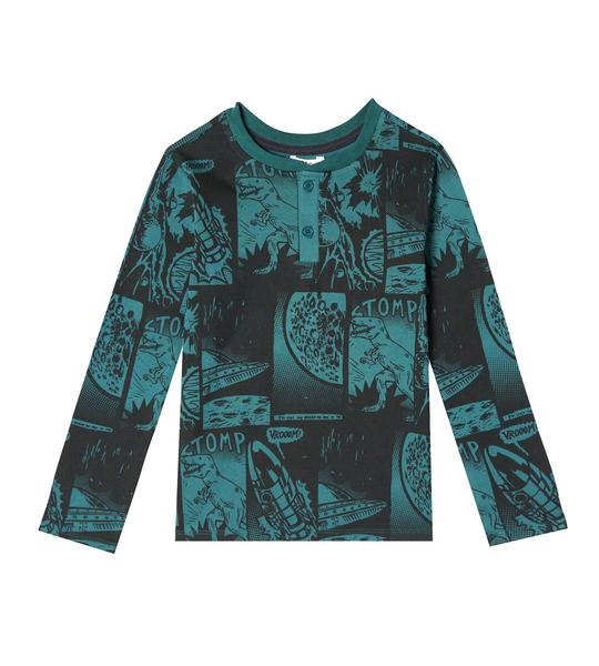 NATHAN HENLEY  LION SLEEVE SHIRT