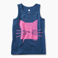 Spray Paint Kitty Graphic Tank