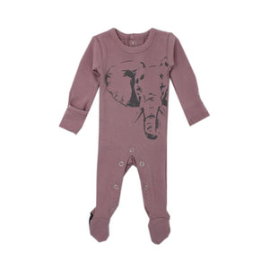 Elephant Footed Overall- Lavender
