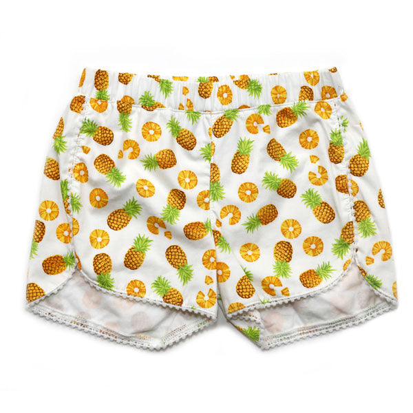 Pineapple Pull on Shorts