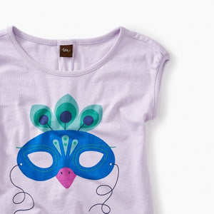 Mardi Gras Mask Graphic Tee