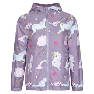 Unicorn Color Changing Raincoat