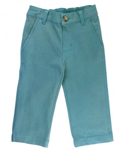 Storm Blue Straight Chino Pants