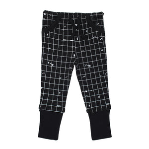 Organic Jogger Pants in Black Coordinates