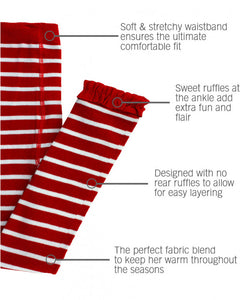 Red Striped Tights