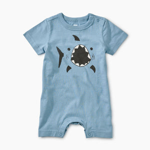 Shark Graphic Romper