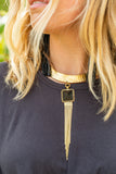 Black Onyx Festival Collar - Amy Margaret