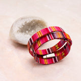 Kiara Wide Wrap Bracelet - Amy Margaret