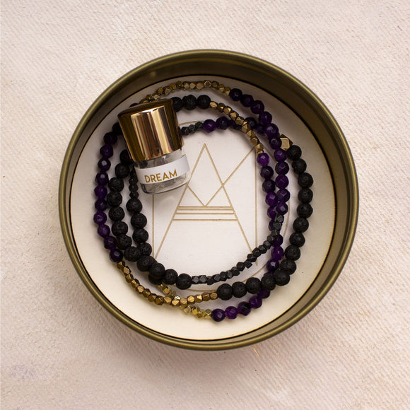 Lava Bracelet & Essential Oil Kit - Amy Margaret