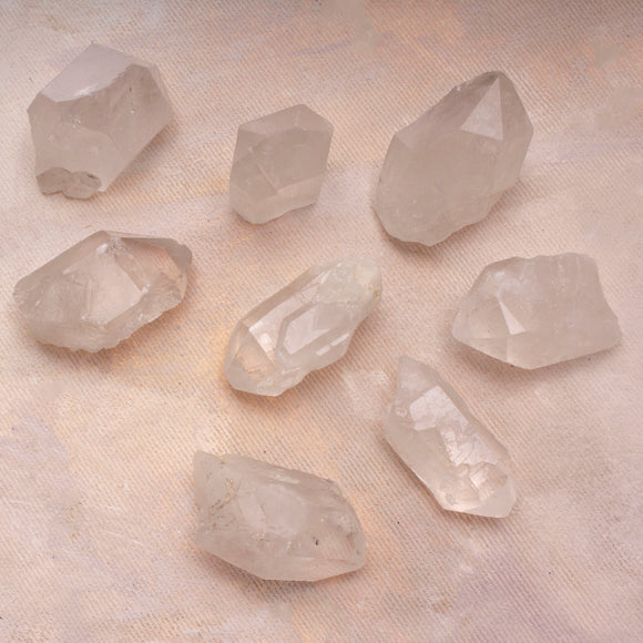 Rough Quartz Crystal Point - Amy Margaret