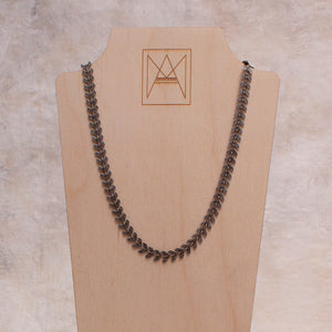 Harper Chevron Chain Choker - Amy Margaret