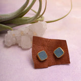 Druzy Stud Earrings - Amy Margaret