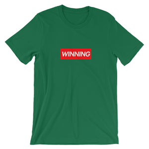 Winning Box Logo Short-Sleeve T-Shirt (see additional colors) - Athletic Inspirations Apparel