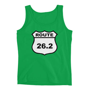 Full Marathon Runners 26.2 Miles Ladies' Tank - Athletic Inspirations Apparel