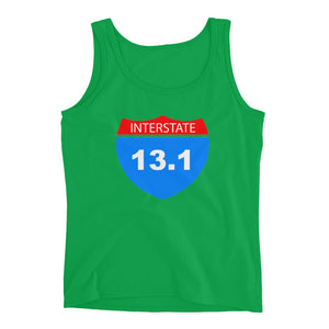 Half Marathon Runners 13.1 Miles Ladies' Tank Top - Athletic Inspirations Apparel