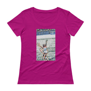 U.S. Tennis Open Limited Edition #7 Ladies' Scoop neck T-Shirt (see additional colors) - Athletic Inspirations Apparel