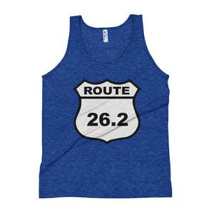 Full Marathon Runners Tank Top Route 26.2 Miles - Athletic Inspirations Apparel