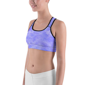 Woman's Purple Haze Graphic Sports bra - Athletic Inspirations Apparel