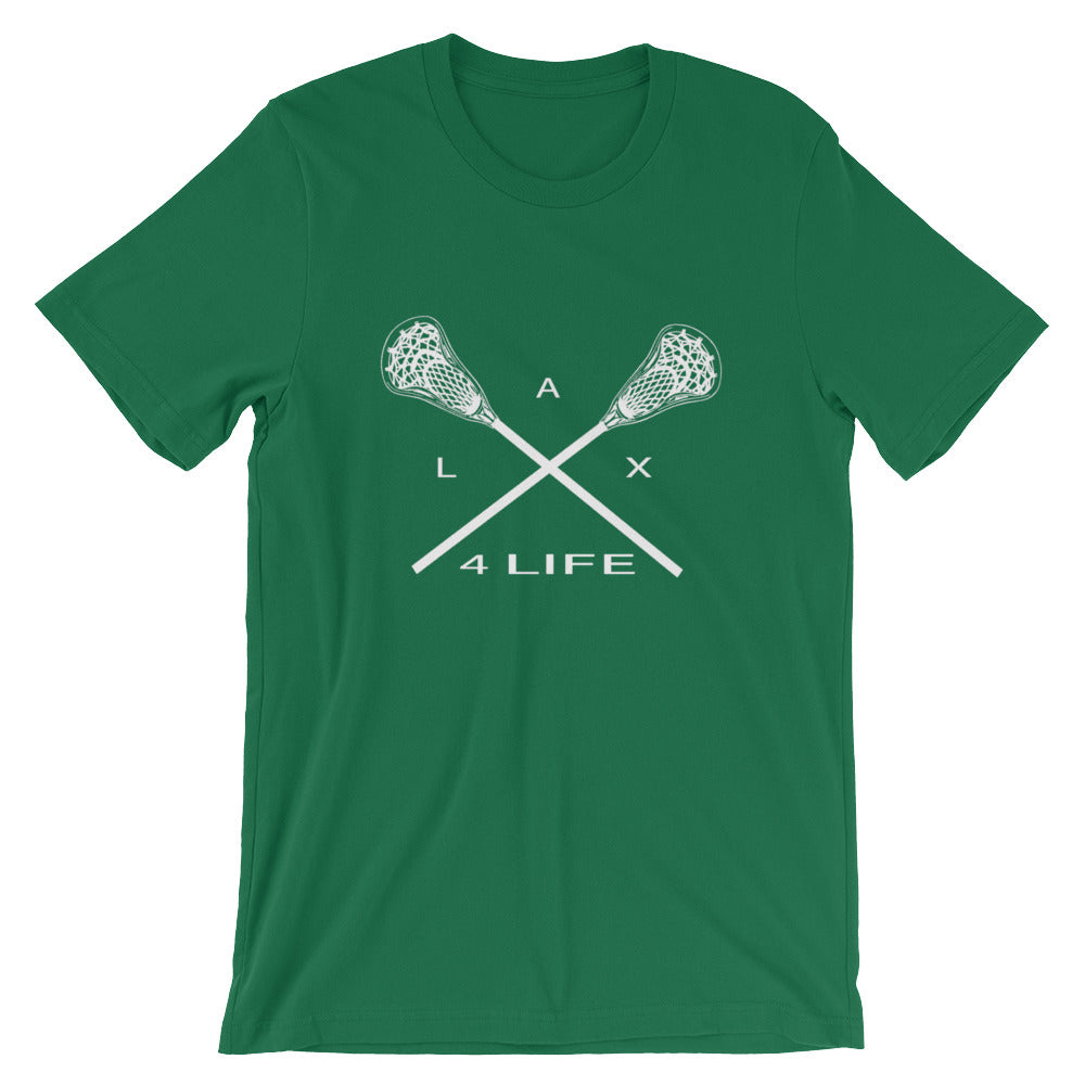Lacrosse 4 Life Short-Sleeve T-Shirt (see additional colors) - Athletic Inspirations Apparel