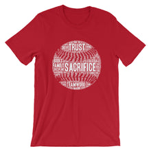 Baseball Motivational Words Short-Sleeve T-Shirt (see additional colors) - Athletic Inspirations Apparel