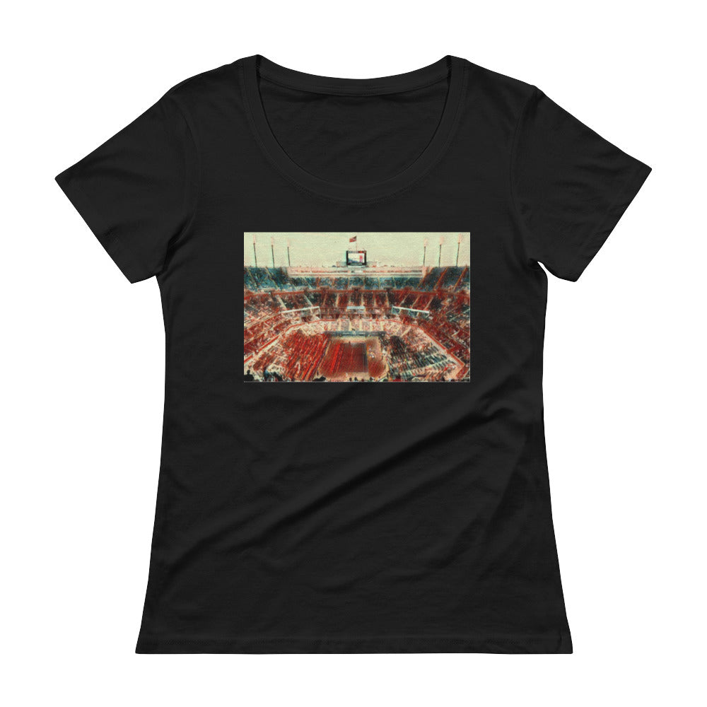 U.S. Tennis Open Limited Edition #2 Ladies' Scoop neck T-Shirt (see additional colors) - Athletic Inspirations Apparel