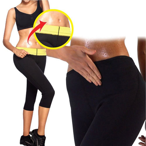 Thermo Slimming Neoprene Body Sweat Sauna Pants