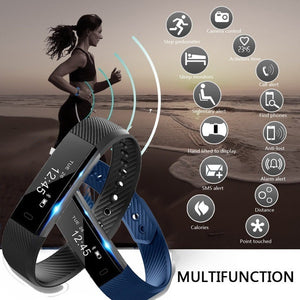 Smart Bracelet Bluetooth  Watch Wristband With OLED Touchpad
