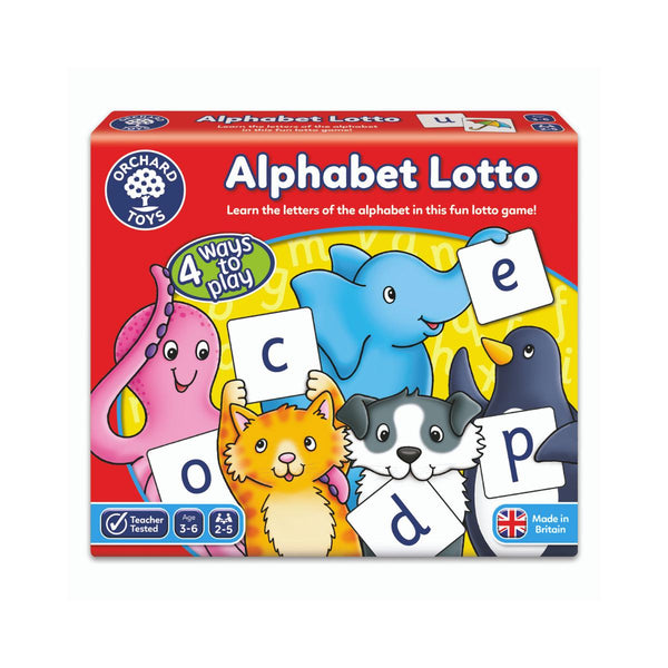 Orchard Toys Alphabet Lotto-Modern Brands-booksrusandmore