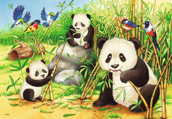 Ravensburger 2 x 24pc Sweet Koalas And Pandas-Ravensburger-booksrusandmore