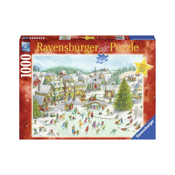 Ravensburger 1000pc Puzzle Playful Christmas Day