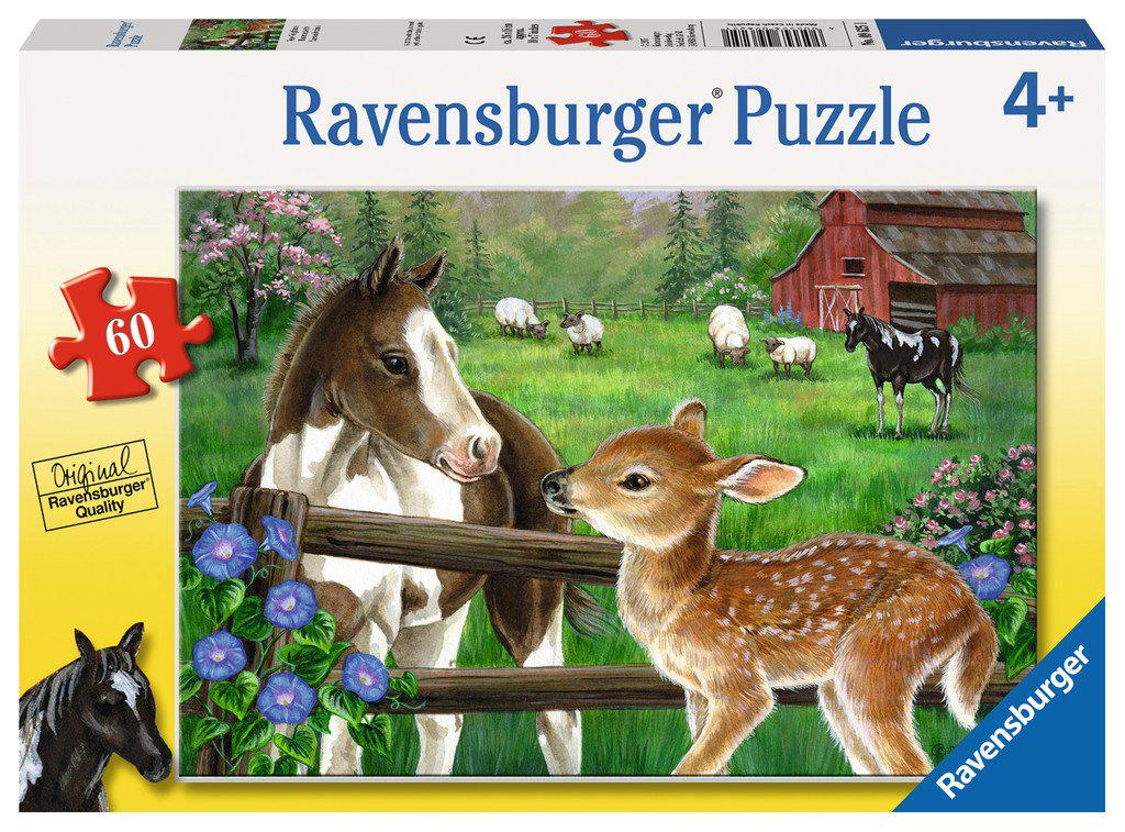 Ravensburger 60pc Puzzle New Neighbors-Ravensburger-booksrusandmore