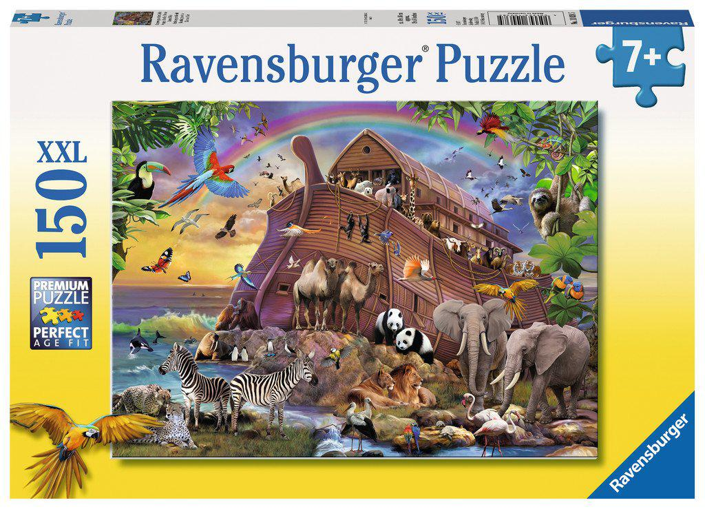 Ravensburger 150pc Puzzle Boarding the Arc-Ravensburger-booksrusandmore