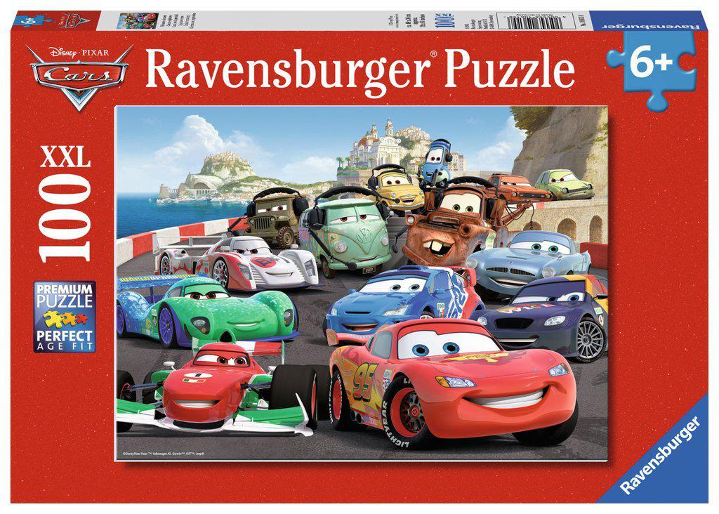 Ravensburger 100pc Puzzle Disney Cars - Explosive Racing-Ravensburger-booksrusandmore