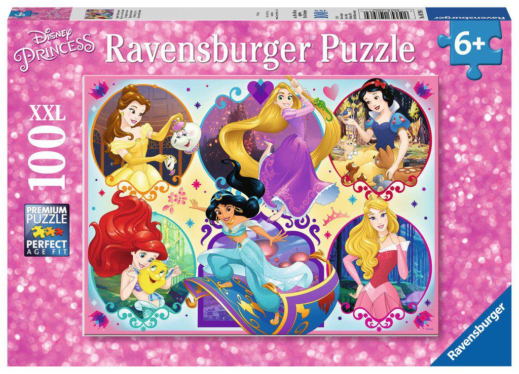 Ravensburger 100pc Puzzle Disney Princess Be Strong Be You-Ravensburger-booksrusandmore