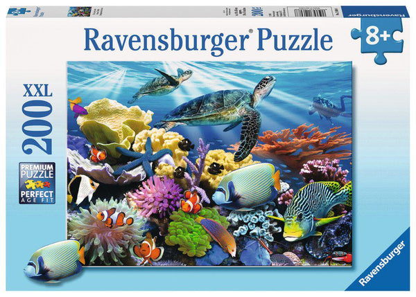 Ravensburger 200pc Puzzle Ocean Turtles-Modern Brands-booksrusandmore