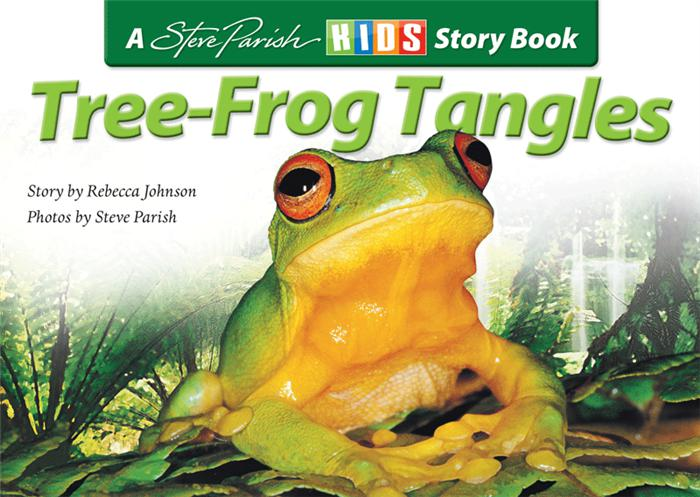 A Steve Parish Kids Story Book Tree-Frog Tangles-Pascal Press-booksrusandmore